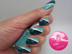http://ma-nails.co.uk/polka-dot-glitter-side-swipe-nails/submitted bymandy59mandy