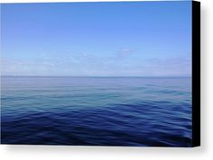 Forever Blue Canvas Print by Debbie Oppermann.  All canvas prints are professionally printed, assembled, and shipped within 3 - 4 business days and delivered ready-to-hang on your wall. Choose from multiple print sizes, border colors, and canvas materials.