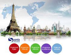 #StudyAbroad con Spania International > Progamas de #inglés, #francés, #alemán y #español > Programas académicos > Viajes de estudios 🌍 📚 Conoce más en www.spaniainternational.com