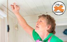 Oldfruens fif til at fjerne pletter fra loftet
