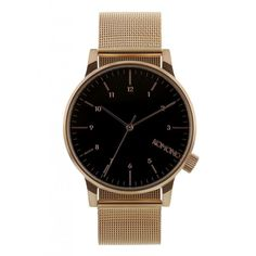 1.6 inch Military Steel Men's Wristwatch