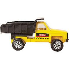 Create a new generation of Tonka fans with a free-wheeling, steel and plastic truck, guaranteed to remind parents of their own childhood toys! Move sand for your new construction project!