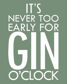 It's never too early to bond over a good and tonic! Gin Quotes, Funny Quotes, Alcohol Quotes, O Gin, Whisky, Gins Of The World, Gin Tasting, Vodka, Thoughts