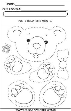 ATIVIDADES COM GRAFISMOS | Cantinho do Educador Infantil …