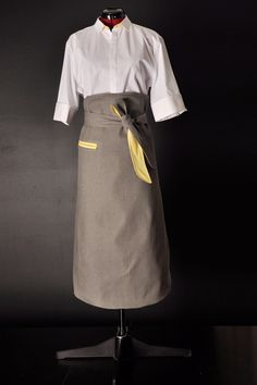 Male French Bistro Style Liberty Catering Concepts Uniform Design