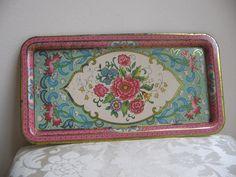 vintage daher tray