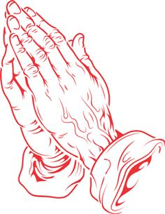 Praying Hands - Airbrush Tattoos - Island Tribal Designs