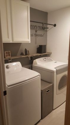 If your laundry room