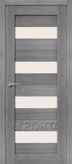 The Door Factory el'PORTA / Model: Porta-23 Grey / Solid Wood Construction
