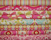 Kumari Garden by Dena Designs / 8 Half Yard Bundle  - Cotton Quilt/Apparel Fabric