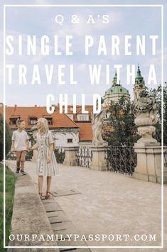 Single parent travel can be stressful and overwhelming! But it doesn't need to be! See our complete FAQs on how to start traveling as a single parent with your kids and how to do it like a pro! Don't miss these traveling with kids tips. Make memories, own your situation, and kill it like the #momboss you are!  #singleparent #familytravel