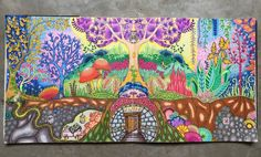 title: crazy in love. books: enchanted forest, johanna basford media: colleen 72 cp & luna 48 wcp total time completed: 28 hours / 11 days #nofilter #adultcoloring #adultcoloringbook #beautifulcolors #beautifulcoloring #coloringforadults #coloringsecrets #coloring_secrets #coloring #colors #enchantedforest #johannabasford #passion #love #colleen #staedtler #luna #bayan_boyan