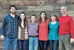 Andrew Luck Family (Andrew, Emily, Addison, Mary helen, Kathy and Oliver)