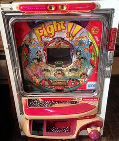 This old coin op game was in a basement in the South Hills