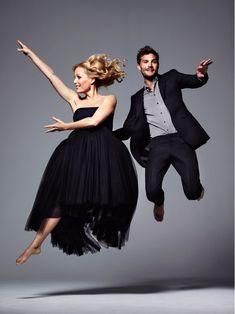 "Jamie Dornan with Gillian Anderson. He's so convincing as serial killer Paul Spector in ""The Fall""."