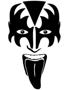 Gene Simmons Kiss Makeup Template Makeupview Co