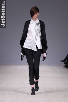 fashion designer Elena Burenina fall/winter 2013 collection
