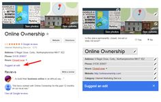 Edit your Google Business Knowledge Panel direct in Search