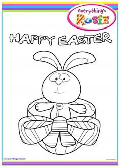 everythings rosie coloring book pages - photo#12