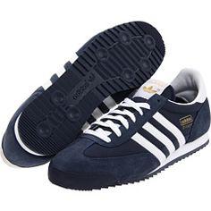 the best attitude 3b0ca 2a3fd Adidas originals dragon new navy white metallic gold