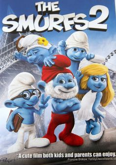 #ad Easy & Fun Family Movie Night: The Smurfs 2+ Smurf Dinner Menu & Cupcakes #Tyson #TastyTenders #shop #cbias #movies #TheSmurfs2 #Smurfcupcakes #familyfun