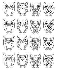Картинки совы для детей