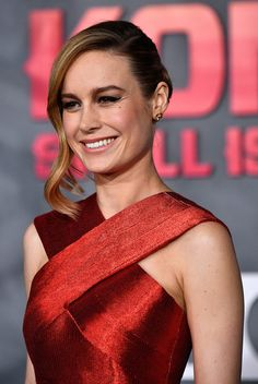 """Brie Larson Armors Up for the """"Kong: Skull Island"""" Los Angeles Premiere 