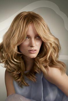 blondtöne honig blonde haare damenfrisuren