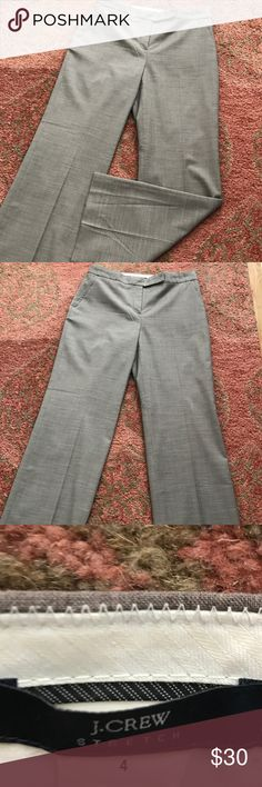 JCREW!! Perfect trousers for the office! TTS. Great for the office. Perfect condition. J. Crew Pants Trousers