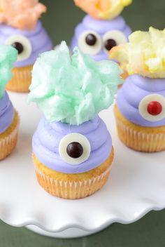 Monster Cupcakes (via thenovicechefblog.com) @The Novice Chef Blog {Jessica}