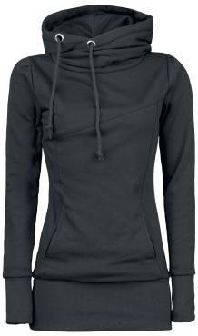 Smart Hoodie Hooded sweater, Women black • EMP   I NEED IT