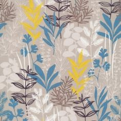 CLOUD9 Bio-Baumwoll Popeline ''Herb Garden Blue'' Sow