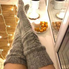Thigh High Knit Socks, Over Knee Socks, Thigh High Socks, Thigh Highs, Warm Socks, Cool Socks, Winter Stockings, Socks For Sale, Custom Socks