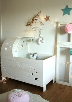 Trendy Star Studded Baby Nursery | KidSpace Interiors