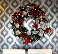 Christmas wreaths - traditional - holiday decorations - TOKE
