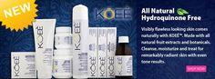 NEW! KOEE Hydroquinone Free Skin Care http://bit.ly/1vPebdQ #skincare #koee #lightening #darkspot #beauty