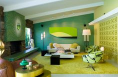 Palm Springs vacation home - lovely mix of greens