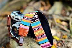 This neoprene camera strap is made with quick release, it best suits for DSLR with inch width brown color webbing which is very sturdy. Cute Camera, British Standards, Camera Straps, Native Style, Camera Photography, Hiking Photography, Camera Accessories, Cool Suits, Fabric Patterns