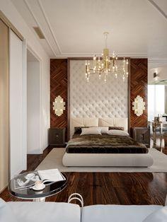 31 clever ideas to craft modern style bedroom 1 Rustic Master Bedroom Design, Bedroom False Ceiling Design, Luxury Bedroom Design, Master Bedroom Interior, Bedroom Closet Design, Bedroom Furniture Design, Room Decor Bedroom, Interior Design, Bed Room