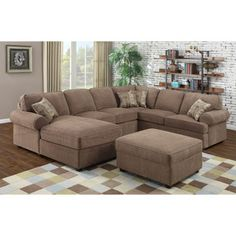 Small Sectional Sofa costco chaise lounge looks better in person