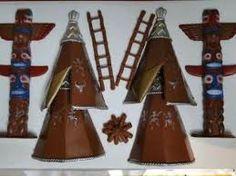 Resultado de imagem para cabana de indio Forte Apache, Cabana, Decorative Bells, Advent Calendar, Triangle, Holiday Decor, Home Decor, Decoration Home, Room Decor