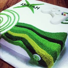 Posts about xbox cake written by Beverly Ross Boy 16th Birthday, Birthday Ideas, Birthday Cake, Xbox Party, Xbox Cake, Cupcake Cakes, Cupcakes, Cake Writing, Cake Decorating