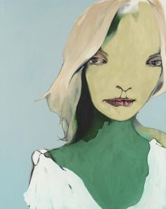 Abbey McCulloch: Toni Collette :: Archibald Prize 2007 :: :: Art Gallery NSW  - I like this painting simply because of the way the artist has painted the woman's expression.