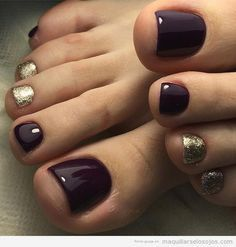 Simple Toe Nails, Pretty Toe Nails, Cute Toe Nails, Summer Toe Nails, Toe Nail Art, Summer Pedicures, Summer Pedicure Colors, Winter Nails, Nail Colors For Pale Skin