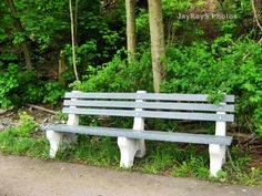 Bench - by my goat pen!
