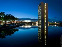Congresso Nacional, Brasilia (Oscar Niemeyer)