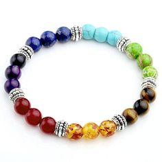 Green Jade Beaded Bracelet Stone Natural Gemstone Meditation Reiki Prayer Love Yoga Gift Rock Chakra Crystal Healing Collection Handmade
