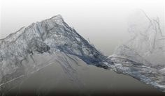 Continuous Topography, Argentiere glacier 1 by Dan Holdsworth