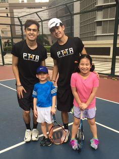 Philippine junior tennis coaches @ThePTTA ThePTTA #philippine #junior #tennis #lessons #coaches
