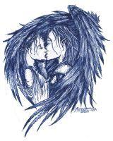Angel's Kiss by pegacorna2